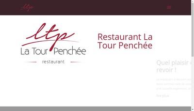 Site internet de Auberge de la Tour Penchee