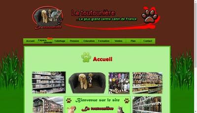 Site internet de La Toutouniere