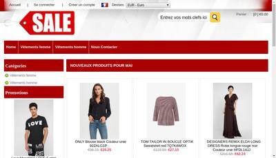 Site internet de L'Attrape Fleurs