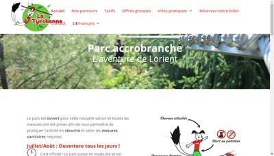 Site internet de La Tyrolienne