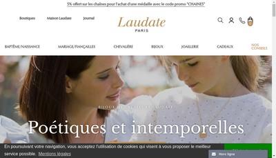 Site internet de Laudate