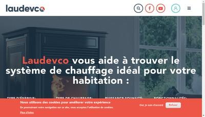 Site internet de Laudevco