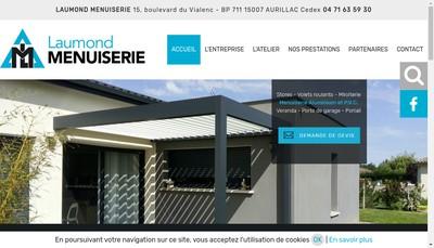 Site internet de Laumond Menuiserie