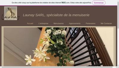 Site internet de Launay Menuiserie
