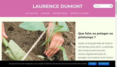 Site internet de Laurence Dumont
