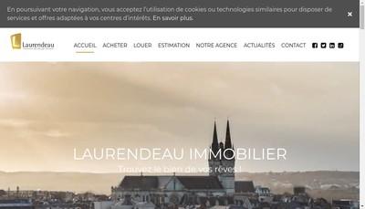 Site internet de Laurendeau Immobilier