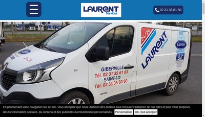 Site internet de Laurent Services