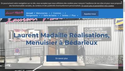 Site internet de Laurent Madaille Realisation