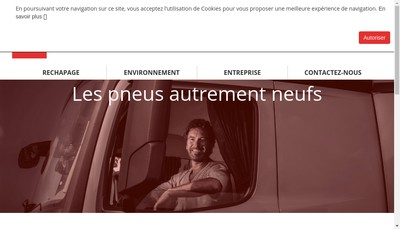 Site internet de SNC Pneu Laurent