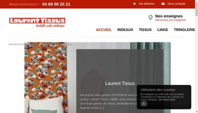 Site internet de Kglg Tissus