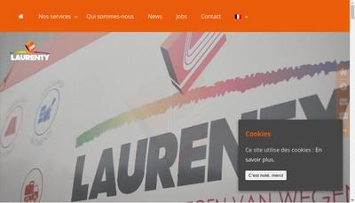 Site internet de Laurenty Proprete