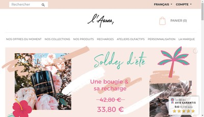 Site internet de L'Aurore