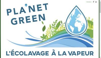 Site internet de Pla Net Green