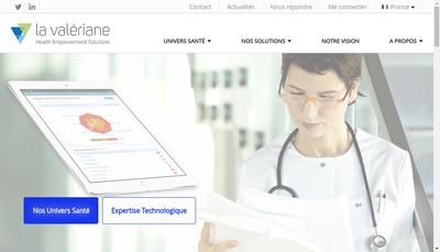Site internet de La Valeriane
