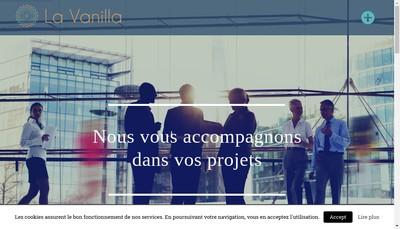 Site internet de La Vanilla