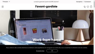Site internet de L'Avant Gardiste