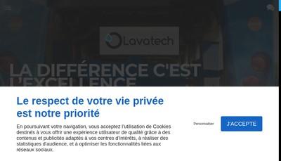 Site internet de Lavatech