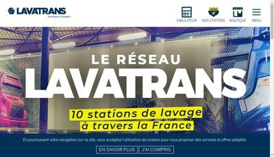 Site internet de Lavatrans