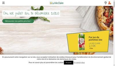 Site internet de Le Bio Chateau