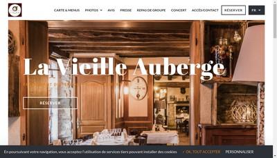 Site internet de La Vieille Auberge