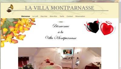 Site internet de La Villa Montparnasse