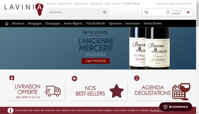 Site internet de Lavinia France