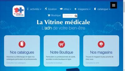 Site internet de La Vitrine Medicale