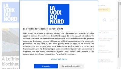 Site internet de La Voix du Nord