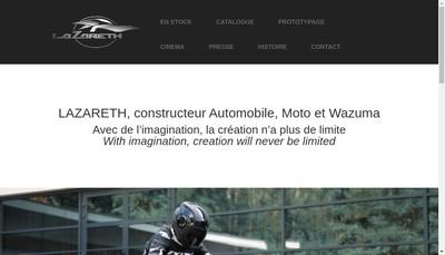 Site internet de Lazareth Auto Moto