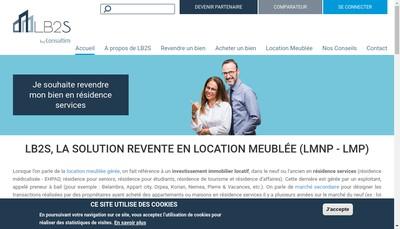 Site internet de Lb2S Asset Management