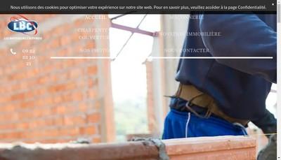 Site internet de Les Batisseurs Crepynois