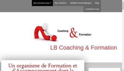 Site internet de Lb Coaching et Formation
