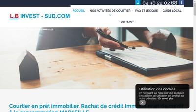 Site internet de Lb Invest Sud