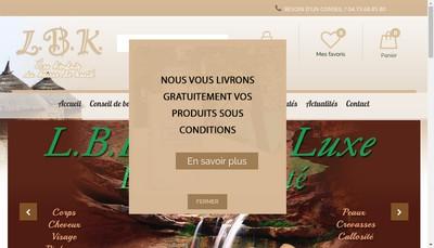 Site internet de LBK