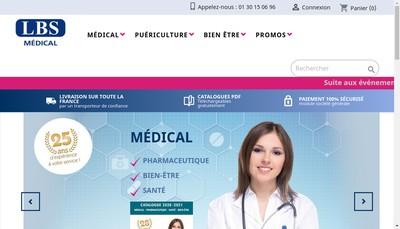 Site internet de Laboratoire Bouix Sante