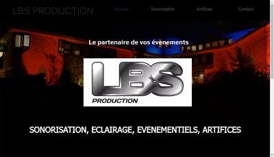 Site internet de Lbs Production