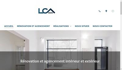 Site internet de Lca Renovation