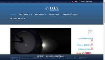 Site internet de Lcdc SA