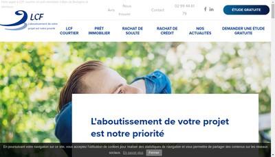 Site internet de Lcf