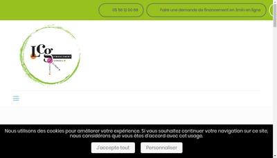 Site internet de Lcg Financement
