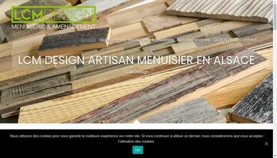 Site internet de Lcm Design