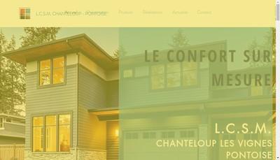 Site internet de Le Confort sur Mesures