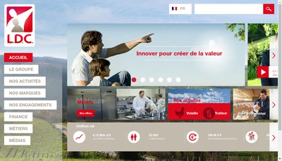 Site internet de Ldc Services