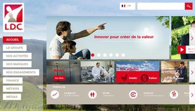 Site internet de Ldc Sable