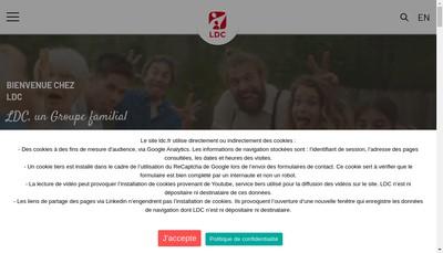 Site internet de SAS Guillet