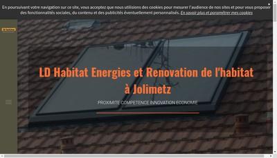 Site internet de EURL Ld Habitat
