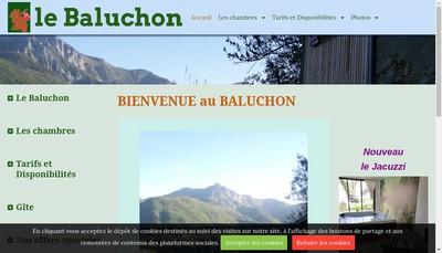 Site internet de Le Baluchon