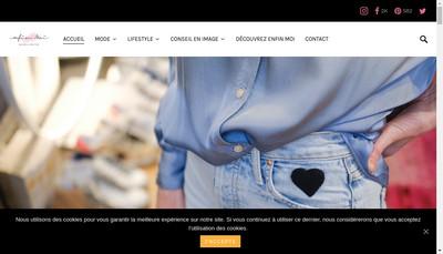 Site internet de Enfin Moi