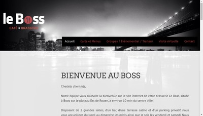 Site internet de Le Boss