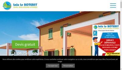 Site internet de Isolation Stores le Boterff